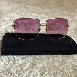 Pink Celine sunglasses